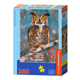 Puzzle 260 elementów - Great Horned Owl