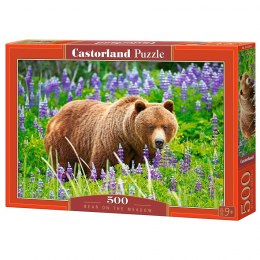 Puzzle 500 elementów - Bear on the Meadow