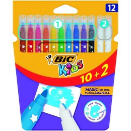 Flamastry Bic Kids Magic 10+2