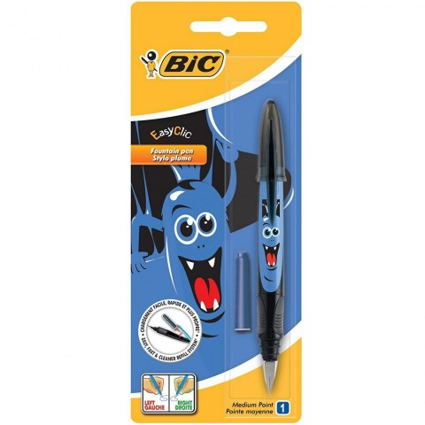 Pióro wieczne Bic Easy Clic Decors Monster blister
