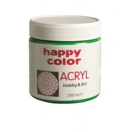 Farba akrylowa 250 ml Happy Color zielona