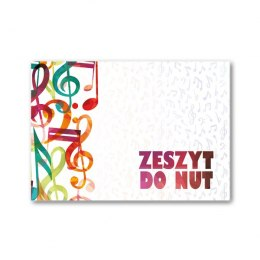 Zeszyt do nut A5 Strigo