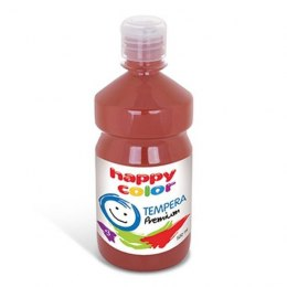 Farba tempera premium 500 ml brązowa Happy Color