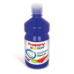Farba tempera premium 500 ml granatowa Happy Color