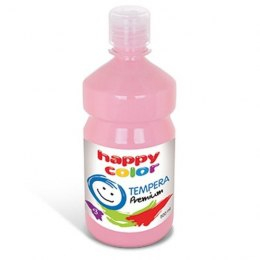 Farba tempera premium 500 ml różowa Happy Color