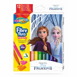 "Flamastry ""Frozen"" 12 kolorów Patio Colorino 91093PTR"